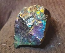 74g Bright Beautiful Peacock Coal Rainbow Anthracite Mineral