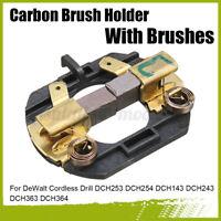 🔥 Carbon Brush Holder + Brushes For DeWalt Cordless Drill DCH253 DCH254   d