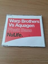 WARP BROTHERS vs AQUAGEN - Phatt Bass CD Trance / Dance
