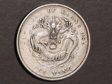 CHINA-CHIHLI 1908(YR34) 1 Dollar Silver Crown VF