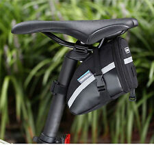 Mountain Bike MTB Tail Bag Bicycle Saddle Bag Road Bike Pouch Cycling Seat Bag B