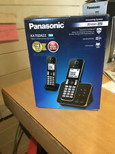 Panasonic KX-TGD622EB Digital Cordless Telephone Answering Machine Twin DECT