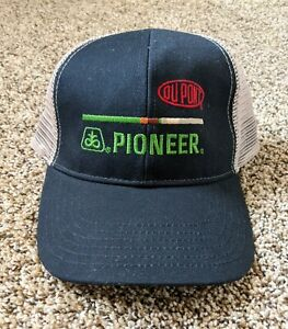 DuPont Pioneer Seed Hat Mesh Trucker Cap Adjustable Snap Back