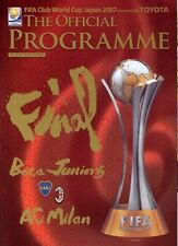 Away Teams A-B World Cup Final Football Programmes