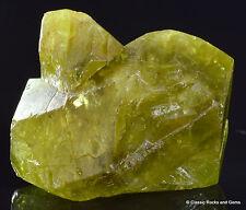 Chrysoberyl Twin Crystals Mineral Specimen Espirito Santo Brazil 15.0 mm 22.10ct