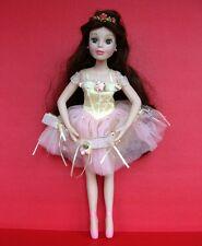 "Brass Key Disney Princess Porcelain Doll 17"" Belle Beauty and Beast Ballerina"