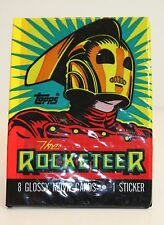 Vintage The Rocketeer Pack of trading cards UNOPENED Disney!!