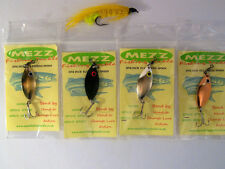 Trout Salmon One Inch Fly Fishing Lures (Set of 4 ) Mezz Fishing Tackle