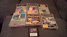 COLECO VISION GAME BUNDLE JOBLOT BOXED WITH MANUALS VERY RARE DONKEY KONG CBS