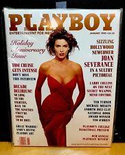 Playboy January 1990 Joan Severance & Peggy McIntaggart VERY GOOD Bagged Boarded