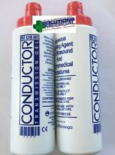 ULTRASOUND CONDUCTIVE COUPLING GEL 250ML CHATTANOOGA USA BRAND X 2