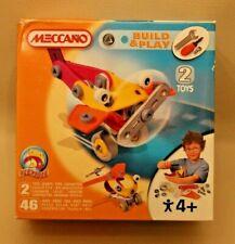 Meccano Junior Build & Play pour enfants à partir de 4 ans - 2 modèles - NEUF