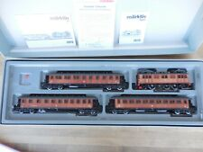 MARKLIN HO 2670 SWEDISH WOODEN  EXPRESS TRAIN OF 1938 NIB