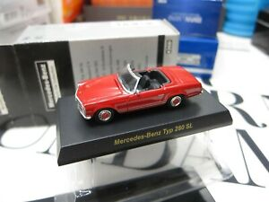 Kyosho - Mercedes-Benz Collection - Typ 280 SL - RED - Scale 1/64 Mini Car - A4