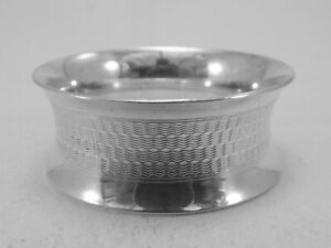 HM Silver Napkin Ring (567a) Birmingham 1918 by G.E.W & S - Not Engraved