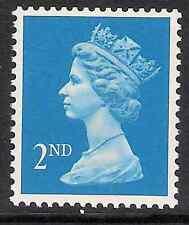 GB 1989- sg1451 2nd Brt Blue litho centre band perf 15x14 MNH