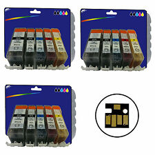 15 Inks for Canon MG5150 MG5250 MG5350 MG6150 iP4850 iX6550 non-OEM 525/6