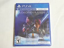 NEW Loading Human Chapter 1 Playstation 4 VR Game SEALED PS4VR PS4 US NTSC