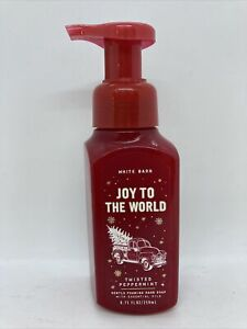 Bath & Body Works Joy to the World Twisted Peppermint Foaming Hand Soap 8.75 oz