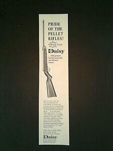 1966 Daisy B-B Gun Pride of Pellet Rifles Model 250 Vintage Oddball Promo Ad