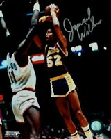 Jamaal Wilkes Hand Signed Autographed 8x10 Photo Los Angeles Lakers v Bob McAdoo