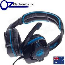 SADES SA708 Wired 3.5 Mm Audio Plug Gaming Headset Headphones With Microphone(gr