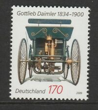 Germania 2009 Gottlieb Wilhelm Daimler SG 3590 Gomma integra, non linguellato