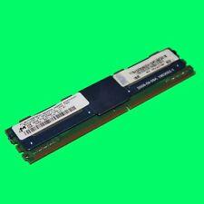 Micron MT18HTF25672FDY 2 GB DDR2 PC2-5300F FB DIMM Speicher RAM FRU: 46C7422