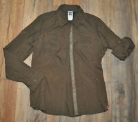 The North Face Ladies Casual Outdoor Shirt Lightweight Nylon M / Medium / Brown