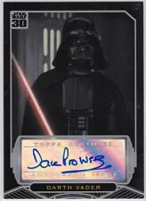 Star Wars Topps 30Th Anniversary David Prowse As Darth Vader Autograph *Rare*