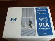 NEW~Genuine HP LaserJet Sealed Black Toner Cartridge~91A~92291A~IIISi/4Si/MX