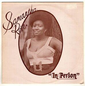 SAMANTHA ROSE-in person    supreme LP (hear)     reggae  lovers