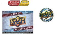 2020-21 UD Caja Sellada Hobby Hockey extendida SERIES Canadá enviar sólo *