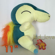 "Pokemon Cyndaquil #155 Plush Toy Soft Stuffed Animal Doll Teddy 11"" BIG"