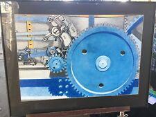"Unique ""Steam Machine I' Drawing by Dallas Schmitt (United States,.1921 - 2014)"