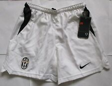 JUVENTUS WHITE HOME SHORTS  BY NIKE SIZE MEDIUM BOYS BRAND NEW WITH TAGS