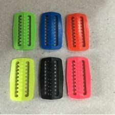 tri glide weight belt retainer keeper clip buckle scuba Red Hat Diving 6 colours