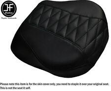 Diamond Negro St custom para Harley brakeout 13-16 Vinilo Cubierta de asiento trasero estándar
