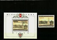 Autriche , Bloc de Timbre +Timbre  Neufs, MNH ,Bien