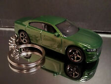 Dark Green 2018 Dodge Charger Key Chain Ring