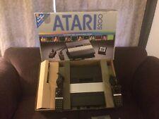 Atari 5200 console and 4 games