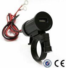Griff 12v Steckverbinder USB Wasserdicht für Motorrad Ladegerät Zellen- GPS