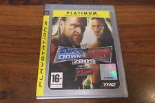 SMACK DOWN VS RAW 2009   ----- pour PS3  // PLATINUM - PN