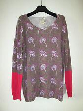 Szen Designer Pullover Tribale Colorato 100% COTONE TAGLIA L 40 42 NUOVO!