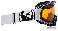 Dragon Alliance DX Ski snowboard Goggles  adult  Grey/icon amber NEW