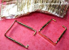 5 pcs chin rest Clamp Screw Viola parts Golden Metal Viola Accessories