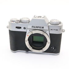 Fujifilm Fuji X-T10 16.3MP Mirrorless Digital Camera Body (Silver) #249