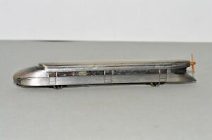 Z Scale Marklin 8876 Powered Zeppelin Railcar w/ Working Propeller