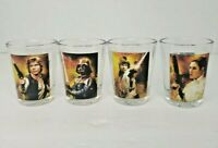 Set of Star Wars Darth Vader, Skywalker, Princess Leia, Han Solo Shot Glass