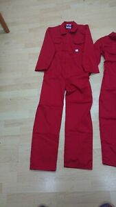 Kids Or Ladies Or Mens Red Colour Boilersuit Or Overalls.